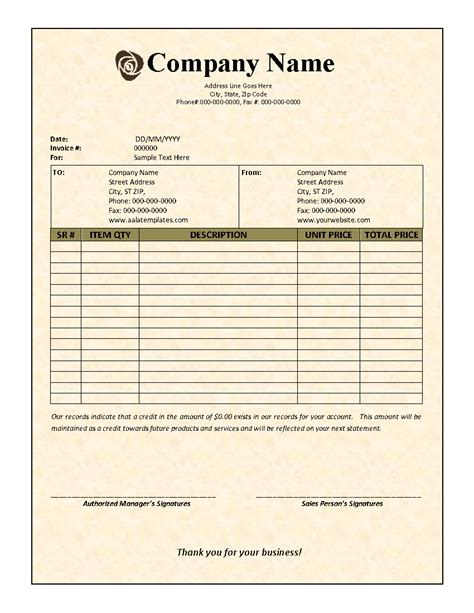 contractor template invoice contractor invoice template car interior design