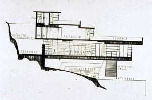 Floor Plans In Spanish by Fallingwater House Edgar J Kaufmann House