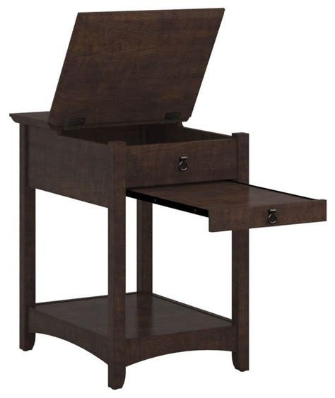 Laptop Side Table Bush Furniture Laptop End Table Contemporary Side Tables And End Tables By Arcadian Home