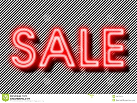 a for all time sale sale sign neon on strips background stock photo image