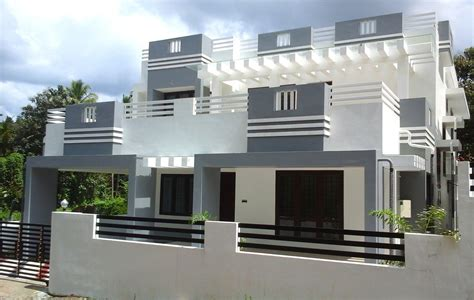 House Designs And Floor Plans In India by 6 Cents Plot And 2 300 Sq Ft Contemporary Villa For Sale