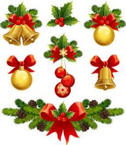 光沢あるクリスマス素材 バナー high quality christmas element vector イラスト