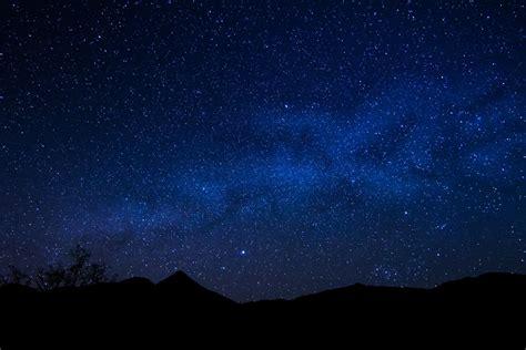 Night Sky Wall Mural space star night milky way horizon hd wallpaper