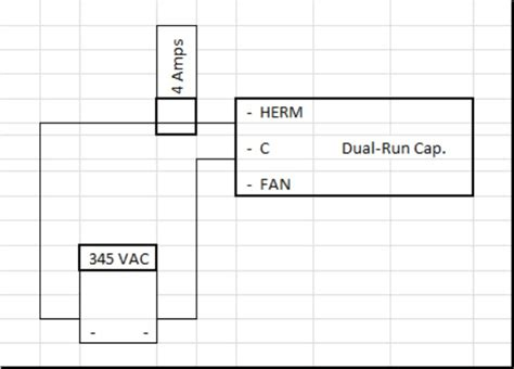 how to test a capacitor load excess air correctly sizing a capacitor