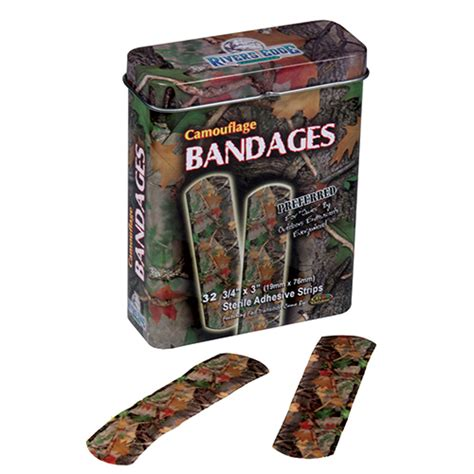 rivers edge products if you rivers edge products 32 pc cb camo bandages green 321