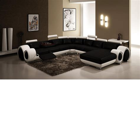 black and white sectionals dreamfurniture com modern black and white frame