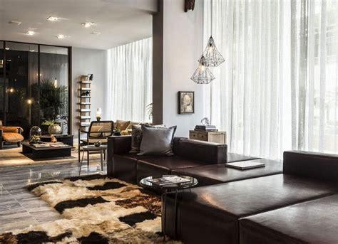 wohnzimmer dunkelbraun wohnzimmer in braun und beige einrichten 55 wohnideen