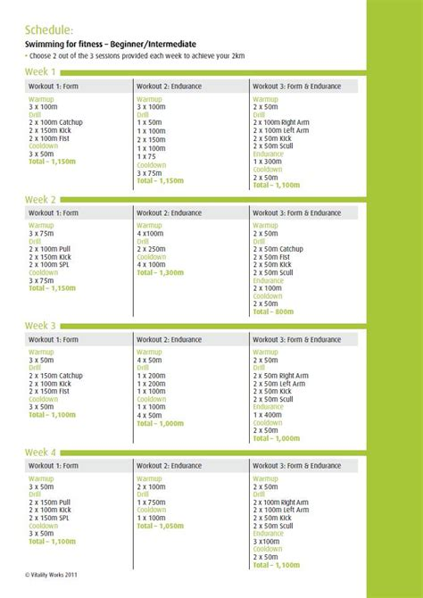 beginner swim workouts to lose weight eoua