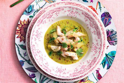 cucinare il rombo in padella ricetta rombo in zuppetta di piselli e la cucina