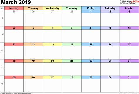 color calendar 2019 printable caribbean color calendar february 2019