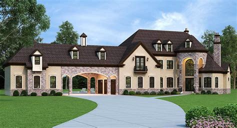 european estate house plans european estate home with porte cochere 12307jl architectural designs house plans