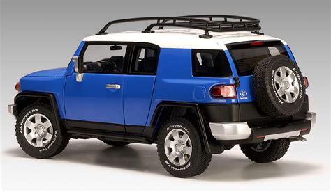blue toyota fj cruiser autoart toyota fj cruiser blue 78855 in 1 18 scale