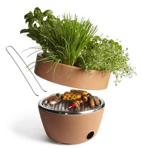 Balcony Herb Planter by Bbq Herb Planter Combination For Your Balcony