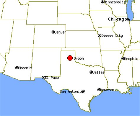 groom texas map groom profile groom tx population crime map