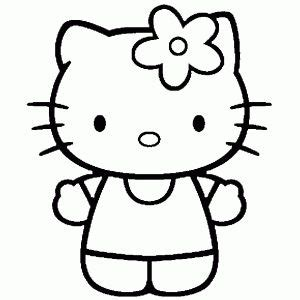 Galerry hello kitty kimono coloring pages