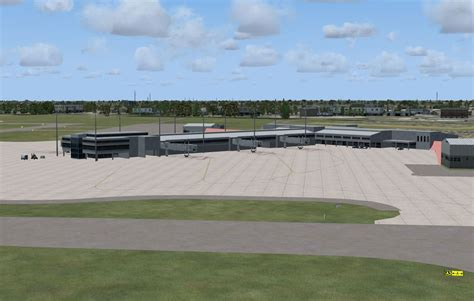 airport design editor object library pensacola regional airport scenery for fsx