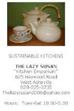 Lazy Susan Kitchen Emporium Asheville The Lazy Susan Kitchen Emporium