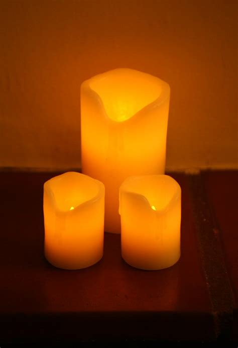 electric candles for birthing room wedding in st