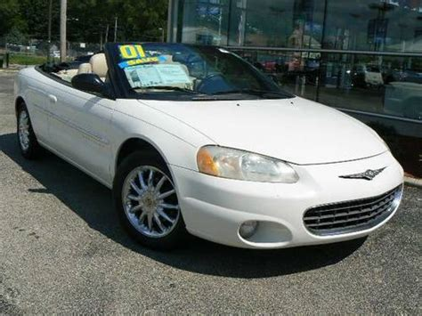 2001 Chrysler Sebring Convertible For Sale by 2001 Chrysler Sebring Convertible Limited For Sale