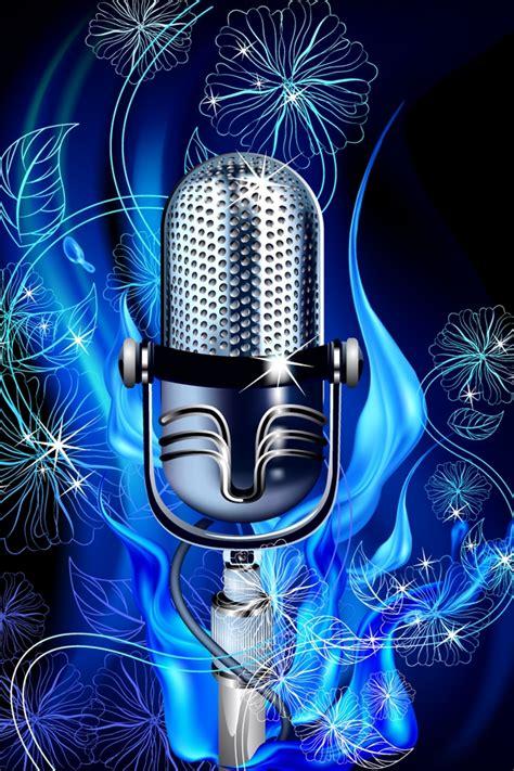 design wallpaper karaoke music iphone 4 wallpapers backgrounds pictures photos