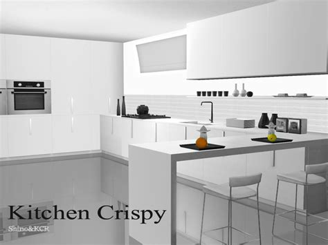 sims 3 modern kitchen the sims resource tsr crispy kitchen by shinokcr sims