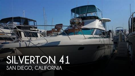new pontoon boats for sale san diego for sale used 1992 silverton 41 in san diego california