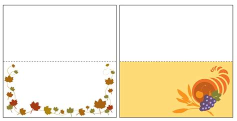 Microsoft Template Thanksgiving Place Cards by Thanksgiving Place Card Templates Best Templates Ideas