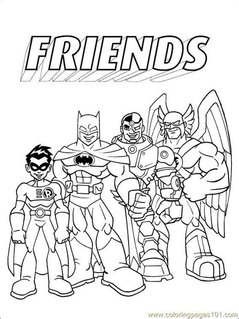 coloring pages dc comics 009 1 cartoons gt others