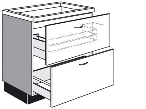 küchen auszug schublade schubladen unterschrank kuche sourcecrave