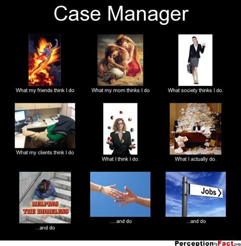 Meme Case - case manager what people think i do what i really do