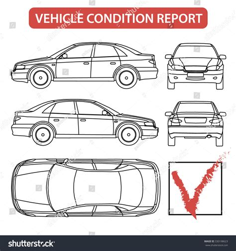 vehicle damage report template the gallery for gt car inspection checklist