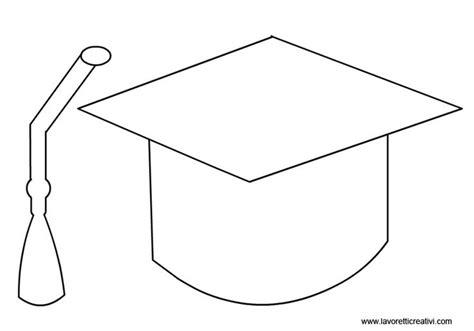 template of graduation cap 17 migliori immagini su school su laurea
