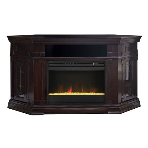 Electric Fireplace And Media Mantel by Muskoka Gmtvs2686sbwl Caldon Electric Corner Fireplace