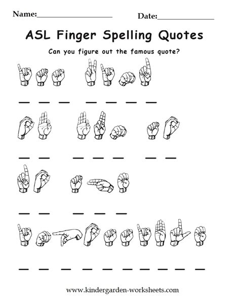 preschool printable language activities sign language worksheets worksheets releaseboard free