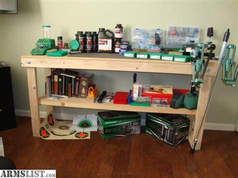 best reloading bench setup armslist for sale reloading setup