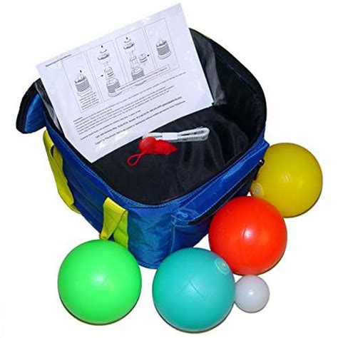 Light Up Bocce Set With Bright Led Lights