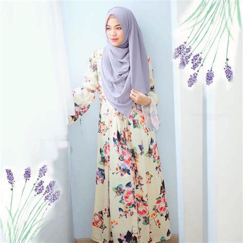 10 Model Baju Gamis Modern 2017 Untuk Wanita Muslimah