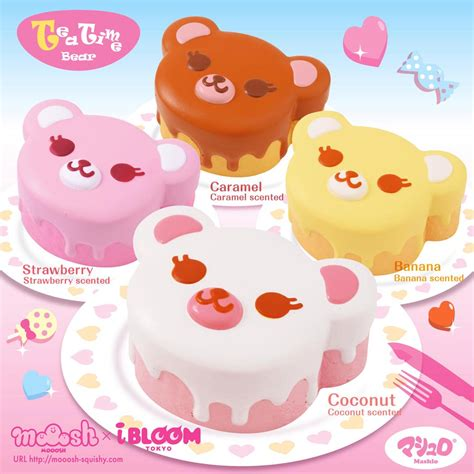 Ibloom Tea Time Squishy 1 ibloom tea time squishy japan