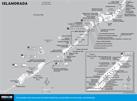 islamorada map map of islamorada florida