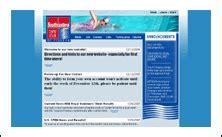 Swim Team Website Templates Designs Off The Blocks Swim Team Website Templates