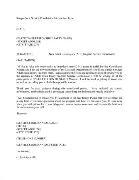 Introduction Letter To Health Care Providers How To Write An Introduction Letter