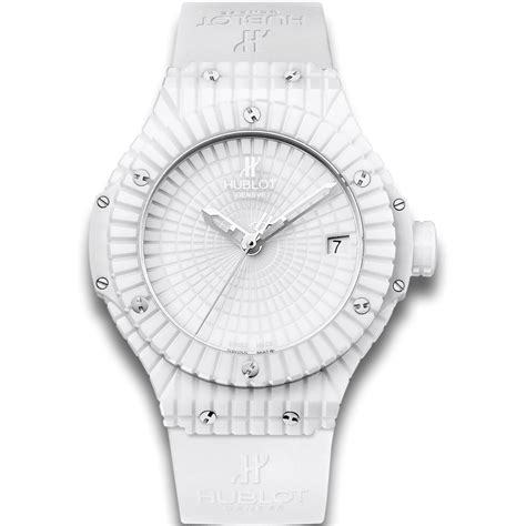 Hublot White Caviar   Big Bang   White Ceramic automatic watches