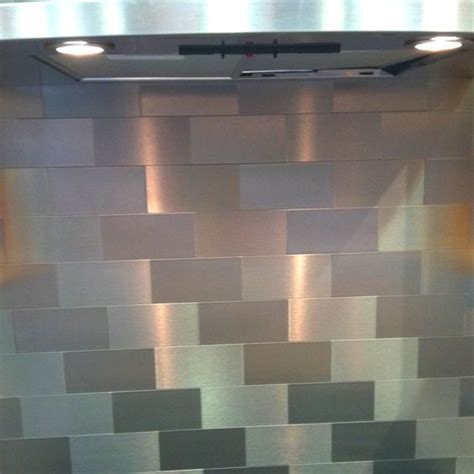 stainless steel tile backsplash ideas memes stainless steel subway tile backsplash home pinterest