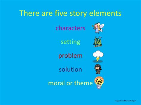 5 themes of a short story story elements an early elementary lesson
