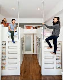 Loft Bed With Closet Underneath 17 Space Saving Ideas For Your Hdb Flat That Will