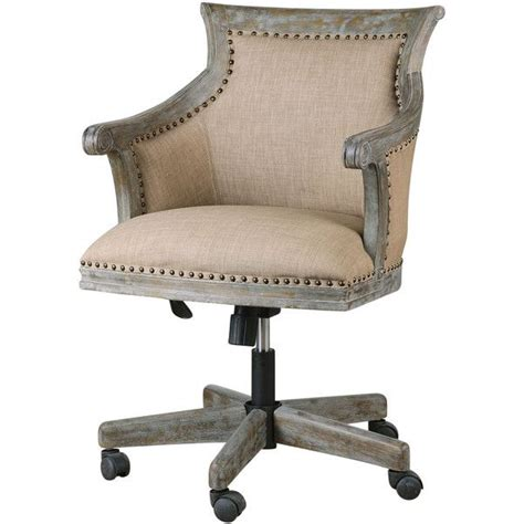 Darius Rustic Lodge Carved Wood Swivel Desk Chair 658 Swivel Desk Chair Wood