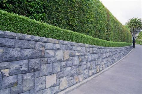Boundary Wall Design retaining walls auckland stonemasons stone walls rock