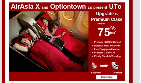airasia upgrade baggage upgrade through optiontown economy traveller