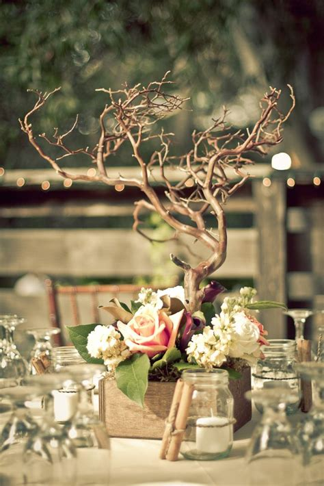 best 25 tree centerpieces ideas on manzanita