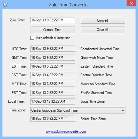 Php Date Format Zulu | zulu time converter download